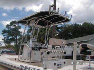 skeeter canvas top w rod holders