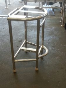 front deck stool